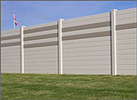 Acoustical Wall Noise Barriers