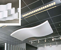 WHISPERWAVE™ Panels, Baffles, Ceiling Clouds and Awnings